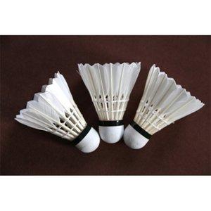 Eroswing المهنية مسابقة المنافسة التدريب جولة بطة ريشة الكرة shuttlecock badminton مستقرة 12 قطع / عشرات دائم Z1202