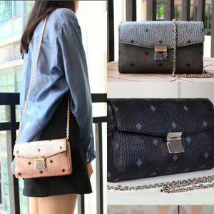 Ladies dinner bag, stylish one-shoulder bag, yKK premium copper zipper classic oblique shoulder bag 6226