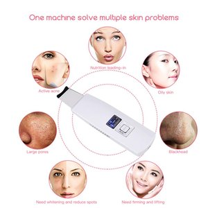 LINMEE Ultrasonic Deep Face Cleaning Machine Skin Scrubber Remove Dirt Blackhead Reduce Wrinkles and spots Facial LiftingRabin