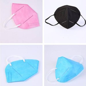 Factory colorful K95 95% Filters Mask ffp2 masks Activated Carbon Breathing Respirator Valve 5 layer facemask individual XH135J