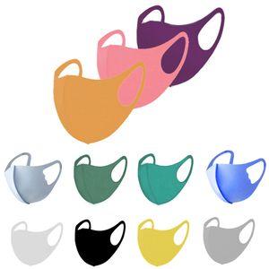 Маска для лица анти пыль лица дизайнер лица маска лица PM2.5 маска пылезащитный моющийся многоразовый ледяной шелковые хлопковые маски инструменты для взрослых