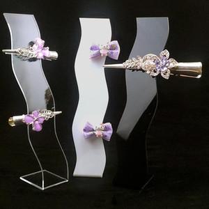 S hair clips holder hairpin display stand hair pins organizer tiara support jewelry accessories showcase haar clip rack