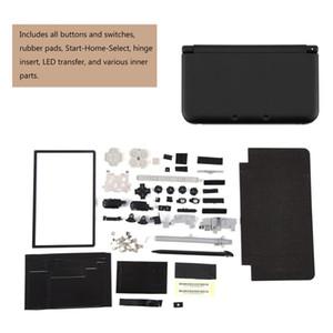 كامل حالة الإسكان غطاء قذيفة إصلاح أجزاء إصلاح كيت إصلاح كاملة لنينتندو ل 3DS XL تتضمن جميع الأزرار والمفاتيح، المطاط