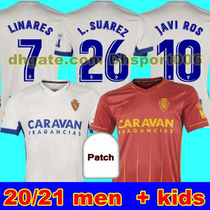 Человек + дети 20 21 Real Zaragoza Soccer Jersey 2020 2021 Zaragoza Shinji Kagawa Andre Pereira Alberto CamiSetas de Futbol Set Футбольные рубашки