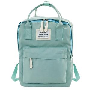حقيبة موهير المرأة mochilas طلاب أنثى # T3G أزياء فتاة السفر حمل حقيبة مدرسية قماش 2020 الكتف kcunr
