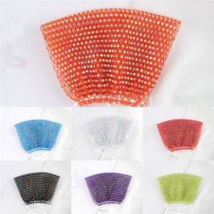máscaras de yveez bling bling strass cover mulheres crystal costurando máscaras designerface boca máscara de boca adulto nightclub