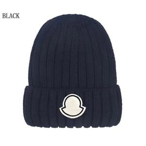 أزياء بيني قبعات الهيب هوب قبعة الشتاء الدافئة قبعة محبوك الصوف القبعات للنساء الرجال gorro بونيه فاخر بيني قبعات بالجملة
