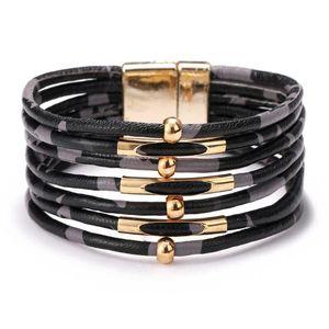Leather Bracelet Bijoux Femme Jewellery Kpop Friends Gifts For Women Men Jewelery Regalos Para Mujer Hombre Cadeau Black Friday