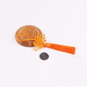 5 stücke Multicolor Mini Chinesische Knoten Quaste DIY Schmuck Home Textil Vorhang Kleidungsstücke Dekoratives Zubehör Anhänger Handwerk Quassels H Jllcek