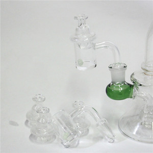 New 25mm Quartz Banger Nail with Spinning Carb Cap and ruby Terp Pearl Female Male 10mm 14mm 18mm for Dab Rig Bong