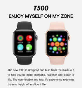 2020 T500 Smart Watch Series 5 Bluetooth Call Music Player 44mm per iOS Android Phone Frequenza cardiaca PK IWO 8 IWO 12 13