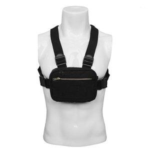 2020 Mini Männer Brust Rig Streetwear Outdoor Sports Taille Tasche Klettern Umhängetasche Telefon Geld Gürtel Taktische Brusttaschen1