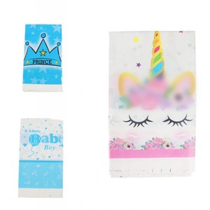 Multi Colors Cartoon Style Table Cloth Disposable Plastic Tablecloths Unicorn Flamingo Patterns Party Tablecloth Hot Selling 1 95hy L1