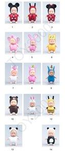 Sleeping 14 XMY New Baby Types Mini Keyring Pendant Pendants Kids Doll Key Ornaments Bags Ornaments Toys Keychain 9cm Keychains Car Pen Fmqp