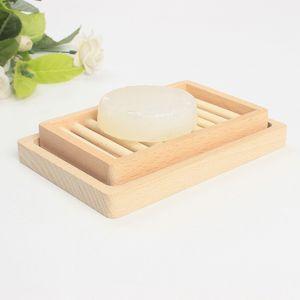 Оригинальность стойки мыла лоток для хранения ящик для хранения блюда двойной DIY два слоя палуба женщины мужчина мода поставки деревянный держатель ванна 6 5ZD K2