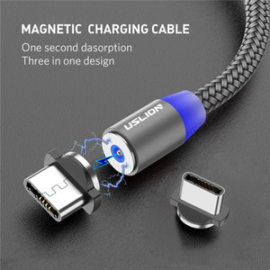 2020 Magnetic USB Cable Fast Charging USB Type C Cable Magnet Charger Data Charge Micro USB Cable Mobile Phone Cord