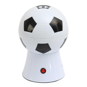 World Cup Creative Gifts Home Football Electric corn Machine Children's Small Puffing Machine with EU Plug