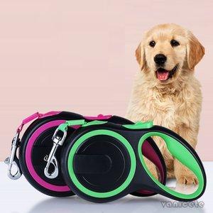 Nylon Automatico Automable Rope Forniture per animali domestici 3M fuori Corda per animali domestici Stretchable Quattro colori senza GALG Dog Leash T3i51498