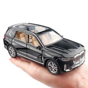 1:32 محاكاة سبائك لعبة سيارات دييكاست سحب الظهر suv نموذج سيارة الأطفال اللعب خارج الطريق المركبات ديكورات هدية عيد