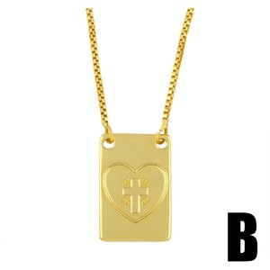 New Accessories Designer Hip Hop Cross Pendant Necklace Sweater Chain Pendant Clavicle Chain Nks15 New Accessories jllyGk bdecoat