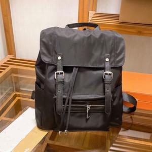 Lady Drawstring рюкзак Newspack Neynon рюкзак Satchels Bag Travel Knaxack Retro Горки Сумка Высокая емкость Сумочка Большой карман черный
