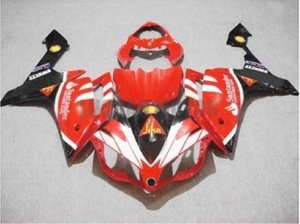 Injection Fairings for red white black YAMAHA YZF R1 2007-2008 Yamaha YZF 1000 07 08 YZF1000 2007 2008 body kits yzf r1 07 08 ABS bodywork