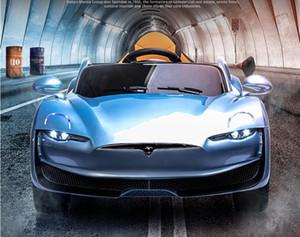 السيارة الكهربائية للأطفال أربع عجلة التحكم عن بعد سيارة الطفل لعبة يمكن الجلوس 4-drive سوينغ طفل عربة