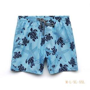 verano de la manera-mens nadan corta ropa de playa bermudas Vilebrequin tortugas más nuevo verano ocasional de los cortocircuitos de los hombres de moda del Mens del estilo Pantalones cortos