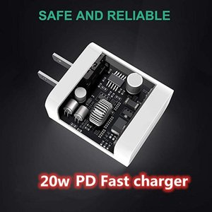 Quality 20W US EU PD Charger USB-C Fast Charging Power Adapter For i12 12 pro max With Retail Box