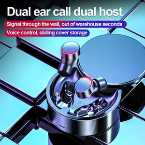 Wireless Headphone Mini TWS Earbuds Bluetooth 5.0 Earphone in-ear Sport Headset With charging box For smartPhone