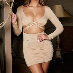 TEdz Dresses Women Color Night Club Cool Candy Sleeve Causal Dress Beach Dress Short V-Neck Mini