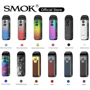 Smok Nord 4 Pod Kit Dispositivo di vapore da 80W da 80W Built-in Built-in 2000Mah Battery 4.5ml RPM 2 Cartuccia 0.16OHM RPM 2 Mesh Coil 100% originale