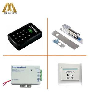 Bonne qualité avec le clavier tactile F008 Kit Contrôle d'accès unique avec le mot de passe Contrôle de la porte MF IC Card Reader Door Access