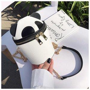 Designer- Summer Small Bag For Women New Fashion Mini Cute Panda Shape Messenger Bag Fashion Mini Shoulder Bucket