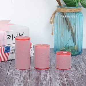 5*15 Scented Candle romantic proposal birthday candlelight dinner cylindrical candle household smokeless fragrance to smoke and deodorize