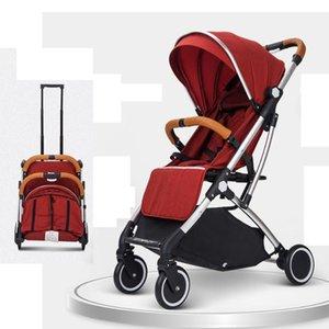 Kinderwagen # 2021 Upgrade Baby Kinderwagen Waggon Tragbare Klappauto Lightweight Pram Cutage Travel Piftchair Carry on1