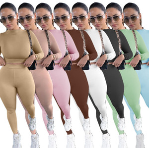 Winter Sexy Tracksuit Women Two Piece Outfits Sports Fitness High Waist Leggings Matching Sets Sweatsuit