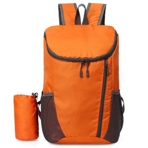 20L Lightweight Folding Backpack Water Repellent Bag Sport Bag for Cycling Camping Climbing Hiking Traveling Schooling