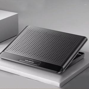Laptop-Kühlkörper-Notebook-Kühlerständer 2 USB-Anschluss-Gaming-Laptop-Kühler 6-Gang-einstellbarer Kühllüfter für 14-17 Zoll