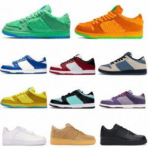 2021 Chunky Dunky Running SB-Schuhe Niedrig Authentische Turnschuhe dankbare tote Dunkmann Rosa digitale Konzepte Herren Womens Sport Trainer Sneakers