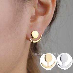 Hilal Ay Kulak Çiviler Takı Moda Sevimli Popüler Basit Cömert Kişilik Kadın Aksesuarlar Küpe Hediyeler 0 9 HS K2