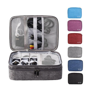 New Fashion Waterproof Travel Storage Bag Electronics USB Charger Data Cable Organizer