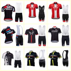 Felt Team Cycling Maniche corte Jersey (Bib) Jersey in bicicletta Quick Dry Cycling Abbigliamento Bicicletta Bicicletta Sportswear B612-58