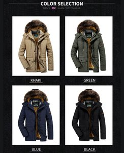 Boutique supply factory 7176 winter cotton-padded jacket male long pile and thicken big yards loose old cotton-padded clothes