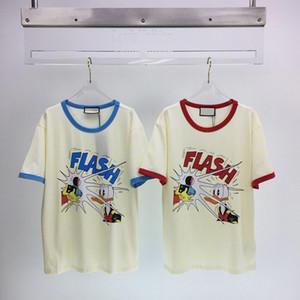 Европа Америка прекрасная весенняя летняя мультфильм камеры вспышка утка тройник мужчины женские футболки с коротким рукавом улица повседневная хлопковая футболка