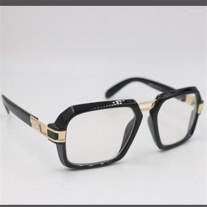 Солнцезащитные очки мужские и женские европейские американские квадратные цветные зеркало хип-хоп на улице Су1