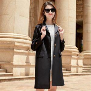 2020 Весна Новый Требовое пальто Женщины Тонкий Пальто Ветрозащитный Водонепроницаемый Высокое Качество Хаки Розовый Отворот Моды Trend Women1561