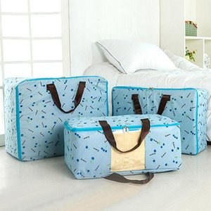 Portable Container Storage Bag Waterproof Clothing Folding Pillow Quilt Blanket Quilt Large Storage Case Organizer Bag