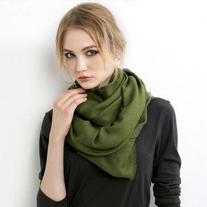 Vanled Frauen des Scarface-Modells Soild Autumn Cashmere Cachecols Lady Pashmina Hot Long Xale Wraps Band Foulard