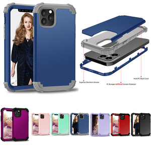 Robot Shockproof Phone Case For iphone12 12pro 12proMAX 12max 11 11PRO 11PROMAX XSMAX XR 7 8plus 3in1 Hybrid Armor cover For Samsung Google